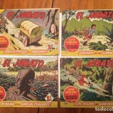 Tebeos: COMIC EL JABATO SUPER AVENTURAS,Nº 117 -135 -160 -161 -LOTE 4 REVT,. Lote 195229871