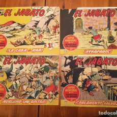 Tebeos: COMIC EL JABATO SUPER AVENTURAS Nº 170 -172 -174 -175 - LOTE 4 REVT, . Lote 195230393