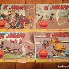 Tebeos: COMIC EL JABATO SUPER AVENTURAS Nº 198 -207 -209 -213 - LOTE 4 REVT,. Lote 195230757