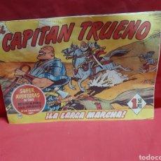 Tebeos: EL CAPITÁN TRUENO SUPER AVENTURAS NÚMERO 265 AÑOS 1960 EDITORIAL BRUGUERA. Lote 195233741