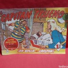 Tebeos: EL CAPITÁN TRUENO SUPER AVENTURAS NÚMERO 269 AÑOS 1960 EDITORIAL BRUGUERA. Lote 195234398