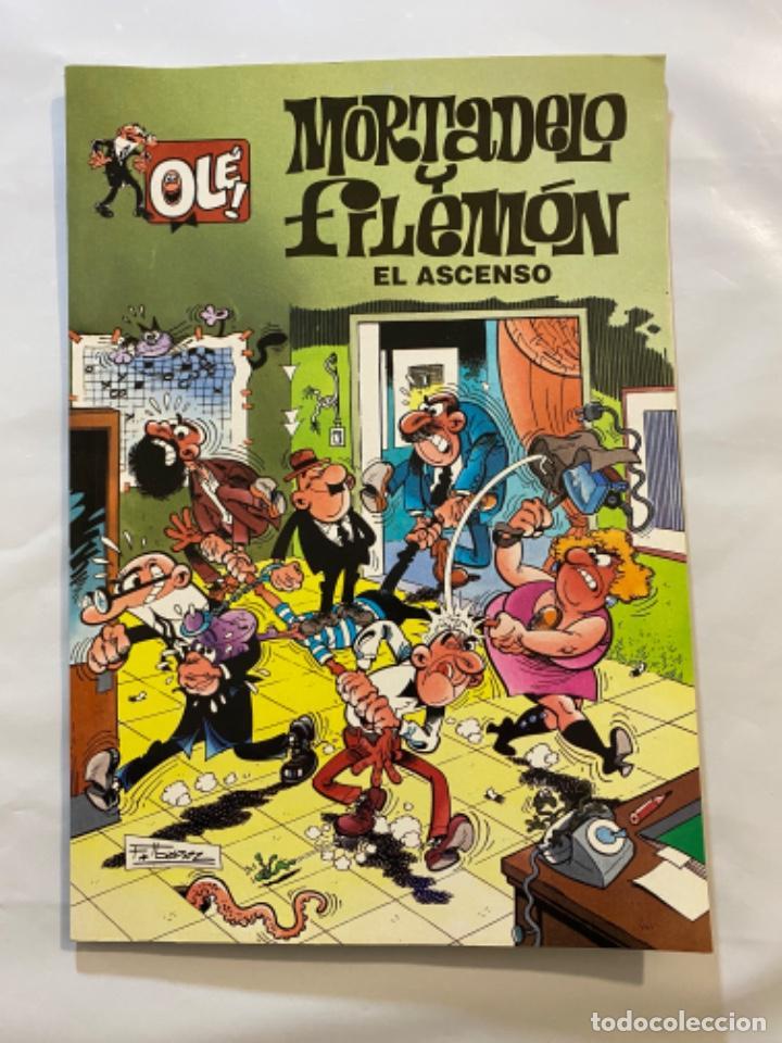 Tebeos: Mortadelo y Filemón el ascenso colección olé número 4 - Foto 2 - 195252453