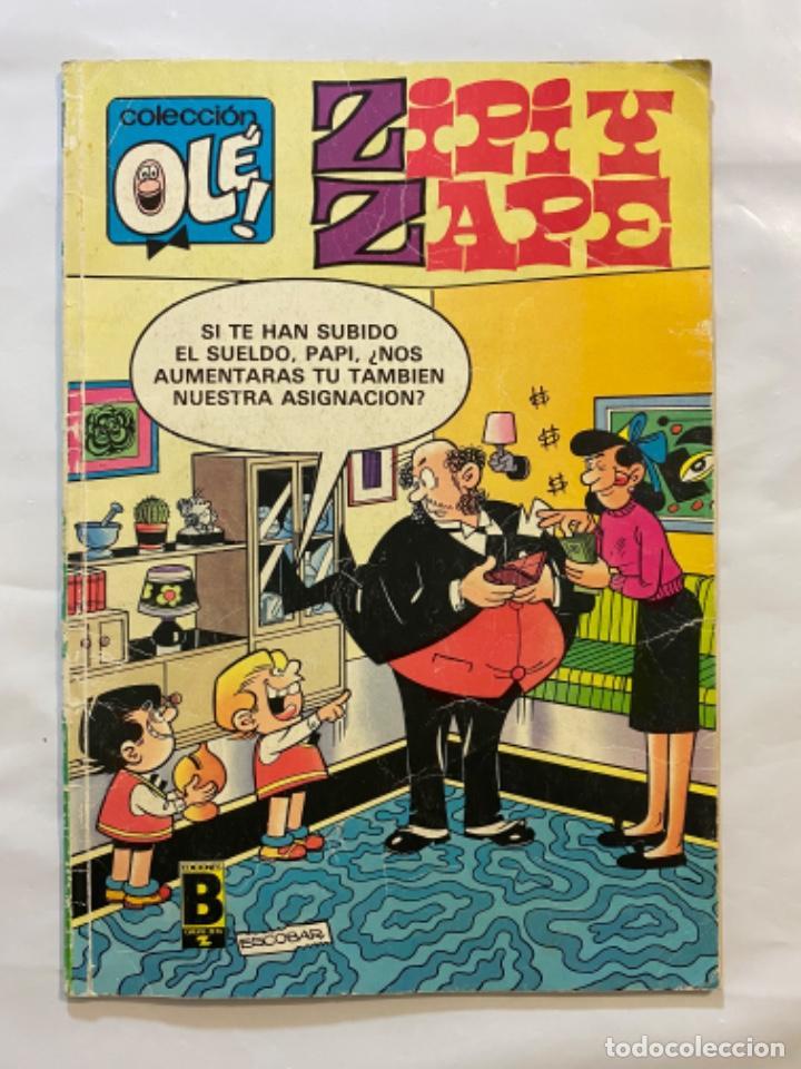 Tebeos: Zipi y Zape 334 colección olé 1988 - Foto 3 - 195253053