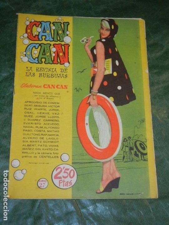 CAN CAN - NUM.27 - ED.BRUGUERA 1958 - CONTRAPORTADA RITA MORENO (Tebeos y Comics - Bruguera - Otros)