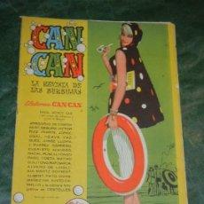 Tebeos: CAN CAN - NUM.27 - ED.BRUGUERA 1958 - CONTRAPORTADA RITA MORENO. Lote 195259462