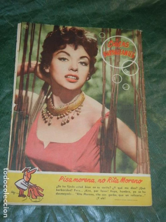 Tebeos: CAN CAN - NUM.27 - ED.BRUGUERA 1958 - CONTRAPORTADA RITA MORENO - Foto 2 - 195259462