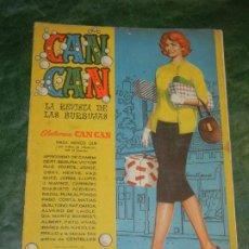 Tebeos: CAN CAN - NUM.37 - ED.BRUGUERA 1958 - CONTRAPORTADA COLEEN GRAY. Lote 195259646