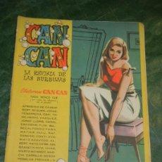 Tebeos: CAN CAN - NUM.44 - ED.BRUGUERA 1958 - CONTRAPORTADA LIZ TAYLOR. Lote 195260193