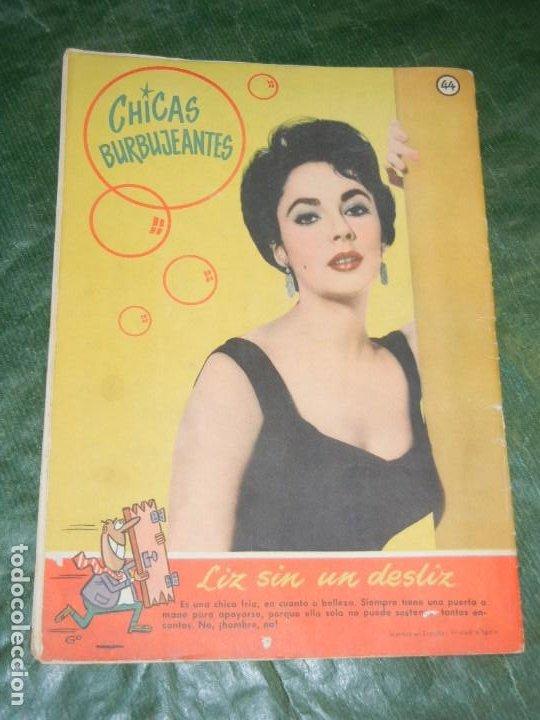 Tebeos: CAN CAN - NUM.44 - ED.BRUGUERA 1958 - CONTRAPORTADA LIZ TAYLOR - Foto 2 - 195260193