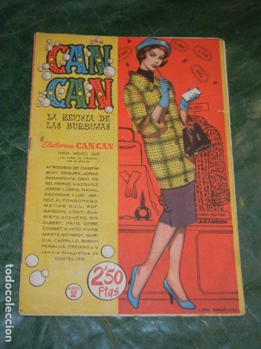 CAN CAN - NUM.52 - ED.BRUGUERA 1959 - CONTRAPORTADA INGRID BERGMAN (Tebeos y Comics - Bruguera - Otros)