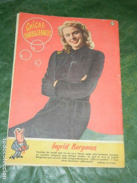 Tebeos: CAN CAN - NUM.52 - ED.BRUGUERA 1959 - CONTRAPORTADA INGRID BERGMAN - Foto 2 - 195260316