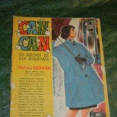 Tebeos: CAN CAN - NUM.54- ED.BRUGUERA 1959 - CONTRAPORTADA MARINA VLADY. Lote 195260462