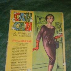 Tebeos: CAN CAN - NUM.58- ED.BRUGUERA 1959 - CONTRAPORTADA CORNELL BORCHERS. Lote 195260576
