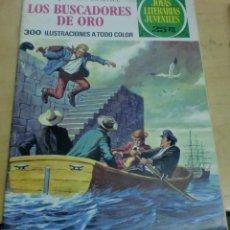 Tebeos: LOS BUSCADORES DE ORO ENRIQUE CONSCIENCE Nº 99 EDITORIAL BRUGUERA AÑO 1977. Lote 195265546