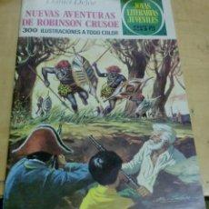 Tebeos: NUEVAS AVENTURAS DE ROBINSON CRUSOE DANIEL DEFOE Nº 165 EDITORIAL BRUGUERA AÑO 1976. Lote 195265645