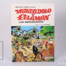 Tebeos: CÓMIC DE TAPA DURA - MORTADELO Y FILEMÓN / LOS MERCENARIOS Nº 40 - EDIT BRUGUERA - 1ª EDICIÓN 1980. Lote 195282886