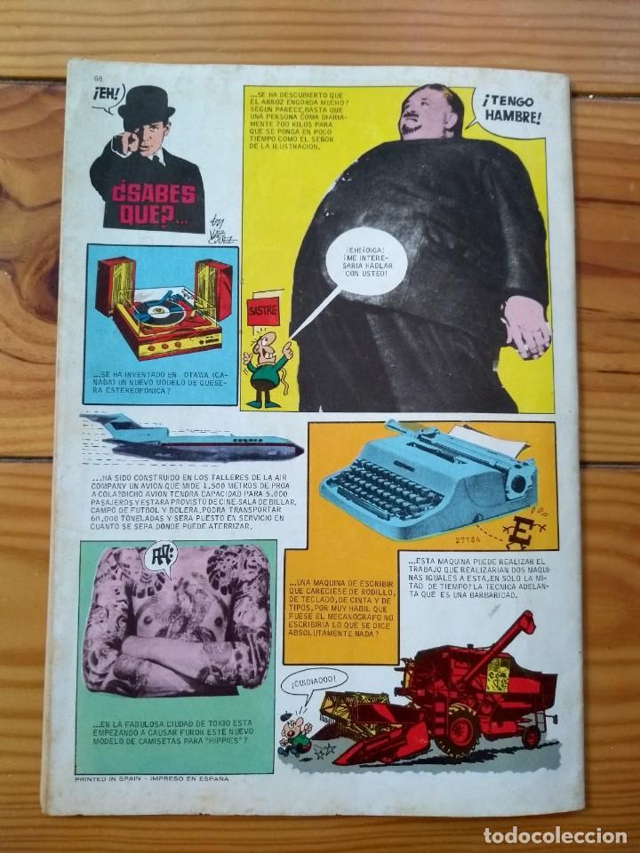 Tebeos: Din Dan Extra de Verano 1969 - Muy buen estado - Foto 12 - 195302712