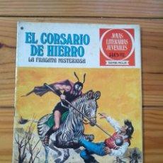 Tebeos: EL CORSARIO DE HIERRO Nº 52 - JOYAS LITERARIAS JUVENILES 1ª EDICIÓN 1978. Lote 195305485