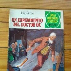 Tebeos: JOYAS LITERARIAS JUVENILES Nº 238 - 1ª EDICIÓN 1981 - UN EXPERIMENTO DEL DOCTOR OX. Lote 195307020