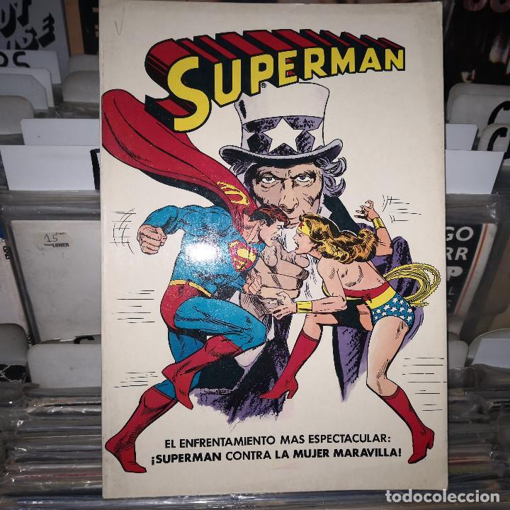 SUPERMAN 4 CONTRA LA MUJER MARAVILLA BRUGUERA (Tebeos y Comics - Bruguera - Otros)
