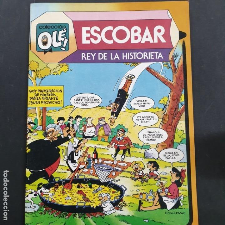 OLÉ Nº 295: ESCOBAR REY DE LA HISTORIETA, PRIMERA EDICIÓN 1984 NUEVO DE DISTRIBUIDORA (Tebeos y Comics - Bruguera - Ole)