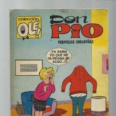 Tebeos: COLECCIÓN OLÉ 76: DON PIO, 1973, BRUGUERA, PRIMERA EDICIÓN. Lote 195320852