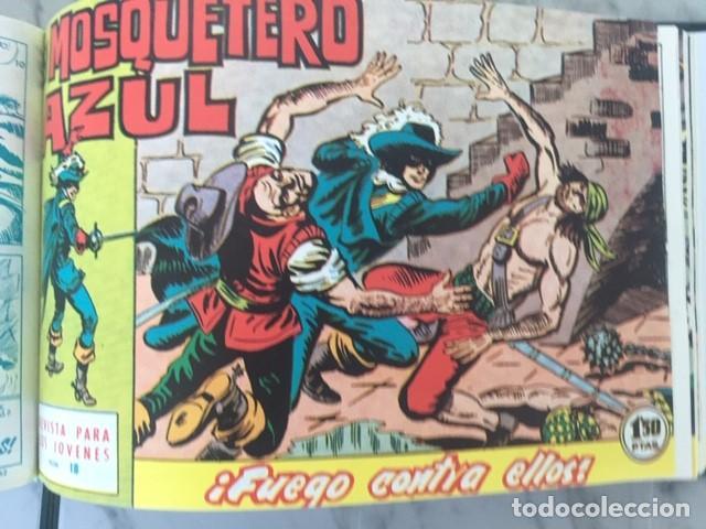 Tebeos: EL MOSQUETERO AZUL -Fascimil, completa, encuadernada - Ed. Bruguera - Foto 7 - 195331127