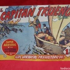 Tebeos: EL CAPITÁN TRUENO SUPERAVENTURA NÚMERO 346 AÑOS 1960 EDITORIAL BRUGUERA. Lote 195332318