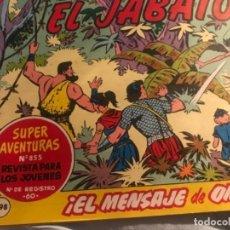 Tebeos: EL JABATO 1964. Lote 195336181
