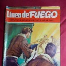 Tebeos: LINEA DE FUEGO. Nº 1. HA DESAPARECIDO UN AVIÓN. BRUGUERA 1976 . Lote 195339710