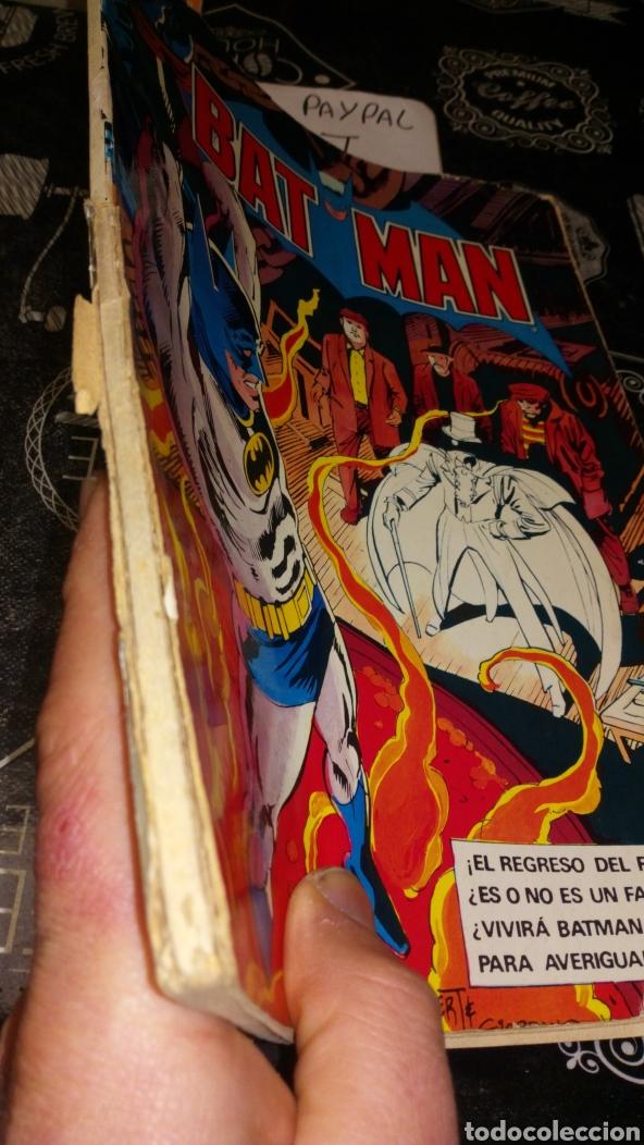 Tebeos: Ver fotos estado necesita reparación y limpieza bat man bruguera 6 año 1980 dc comics pintada a bolí - Foto 3 - 195339782