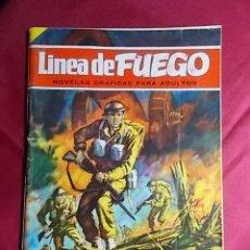 Tebeos: LINEA DE FUEGO. Nº 10. LA VOZ DEL CAÑÓN. BRUGUERA 1976 . Lote 195342337