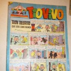 Tebeos: TIO VIVO Nº 309 - BRUGUERA 1967 (PUBLICIDAD CARAMELOS PULGARCITO Y COLA-CAO). Lote 195344432