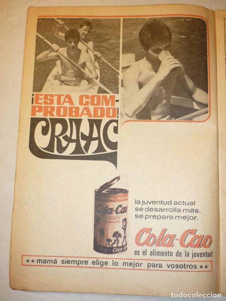 Tebeos: TIO VIVO Nº 309 - BRUGUERA 1967 (PUBLICIDAD CARAMELOS PULGARCITO Y COLA-CAO) - Foto 2 - 195344432