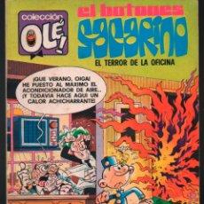 Tebeos: COLECCION OLE Nº 132 2ª EDICION EL BOTONES SACARINO BRUGUERA 1979. Lote 195346502