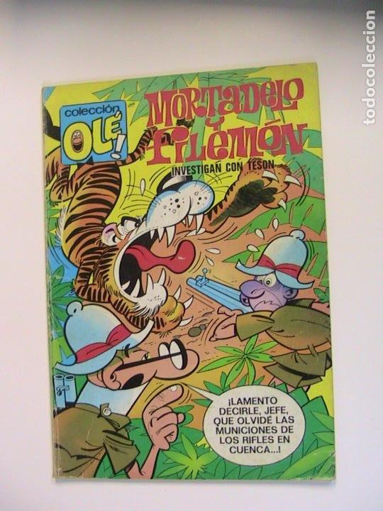 MORTADELO Y FILEMÓN. OLÉ 64. INVESTIGAN CON TESÓN. BRUGUERA, 1984. (Tebeos y Comics - Bruguera - Mortadelo)