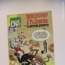 Tebeos: MORTADELO Y FILEMÓN. OLÉ 208. SIEMPRE EN VILO. BRUGUERA, 2ª ED, 1985.. Lote 195357560