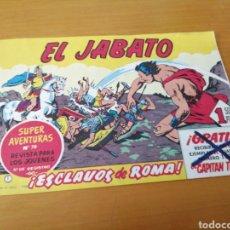 Tebeos: EL JABATO. Nº 1. ESCLAVOS DE ROMA. FACSIMIL, EDICIONES B. Lote 195370553