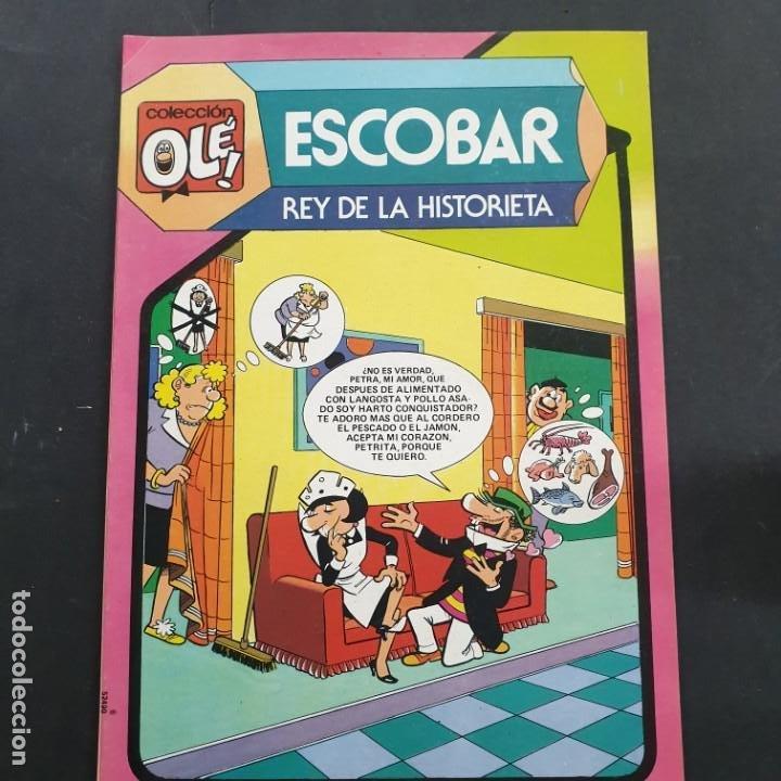 ESCOBAR, REY DE LA HISTORIETA- COLECCION OLE! Nº 297- BRUGUERA 1984- NUEVO DE DISTRIBUIDORA (Tebeos y Comics - Bruguera - Ole)