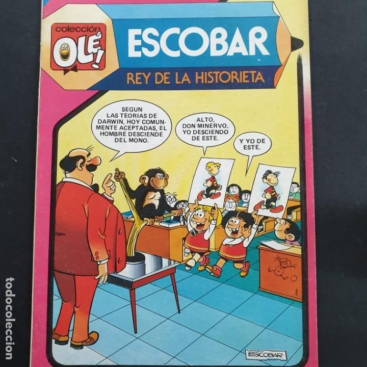 OLÉ. Nº 293. ESCOBAR, REY DE LA HISTORIETA. BRUGUERA, 1ª EDC. 1984. DE DISTRIBUIDORA IMPECABLE (Tebeos y Comics - Bruguera - Ole)