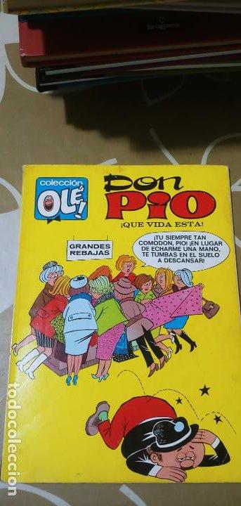 Tebeos: Colección Olé nº 6 Don Pío Peñarroya qué vida esta 1ª edición nº lomo Bruguera 1971 - Foto 2 - 195373213