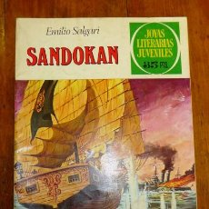 Tebeos: SALGARI, EMILIO. SANDOKÁN (JOYAS LITERARIAS JUVENILES ; 52). - 5ª ED. - 1979. Lote 195380121