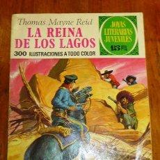 Tebeos: MAYNE REID, THOMAS. LA REINA DE LOS LAGOS (JOYAS LITERARIAS JUVENILES ; 61). - 2ª ED. - 1972. Lote 195380167
