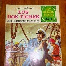 Tebeos: SALGARI, EMILIO. LOS DOS TIGRES (JOYAS LITERARIAS JUVENILES ; 81). - 2ª ED. - 1977. Lote 195380223