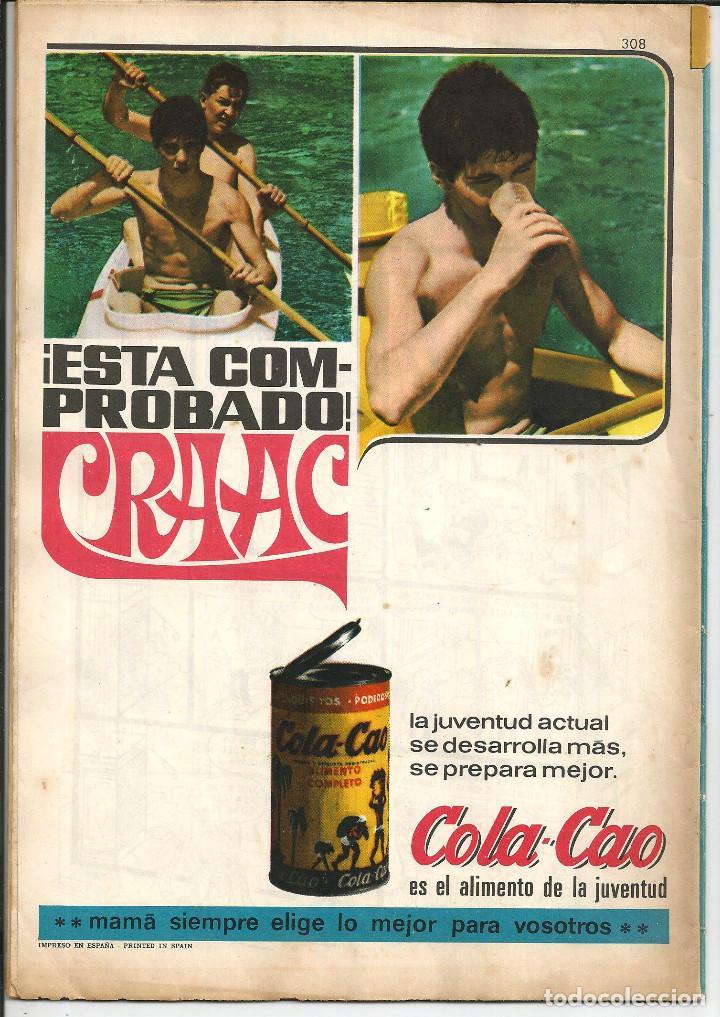 Tebeos: TIO VIVO Nº 308 - BRUGUERA 1967 (PUBLICIDAD CARAMELOS PULGARCITO Y COLA-CAO) - Foto 2 - 195389918