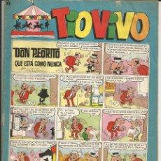 Tebeos: TIO VIVO Nº 295 - BRUGUERA 1966 (PUBLICIDAD BANDERINES ADAMS CLIPPER'S Y COLA-CAO). Lote 195390358