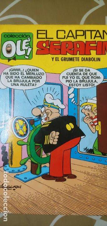 Tebeos: Colección Olé nº 21 El Capitán Serafín y el grumete Diabolín Segura 1ª edición nº lomo Bruguera 1971 - Foto 2 - 195393428