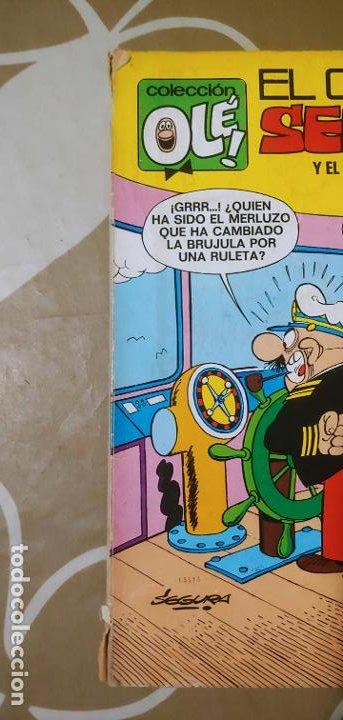 Tebeos: Colección Olé nº 21 El Capitán Serafín y el grumete Diabolín Segura 1ª edición nº lomo Bruguera 1971 - Foto 15 - 195393428