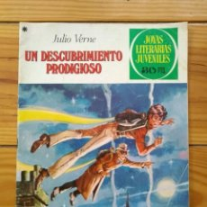 Tebeos: JOYAS LITERARIAS JUVENILES Nº 194 - 1ª EDICIÓN 1978 - UN DESCUBRIMIENTO PRODIGIOSO. Lote 195397676