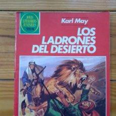 Tebeos: JOYAS LITERARIAS JUVENILES Nº 245 1ª EDICIÓN 1982 - LOS LADRONES DEL DESIERTO. Lote 195399802